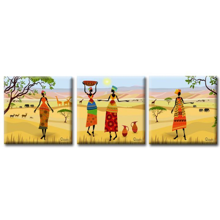 Модульна картина на полотні Glozis Oasis