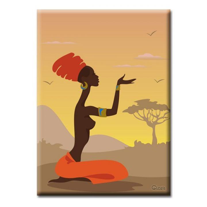 Картина на полотні Glozis African girl