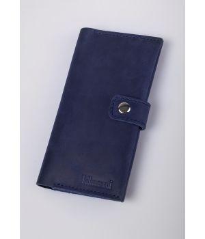 Портмоне Klasni 0304 синее К-03-04-02-1