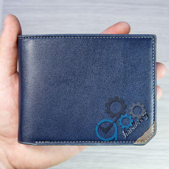 Мужской кошелек SK-3003-0017 Blue