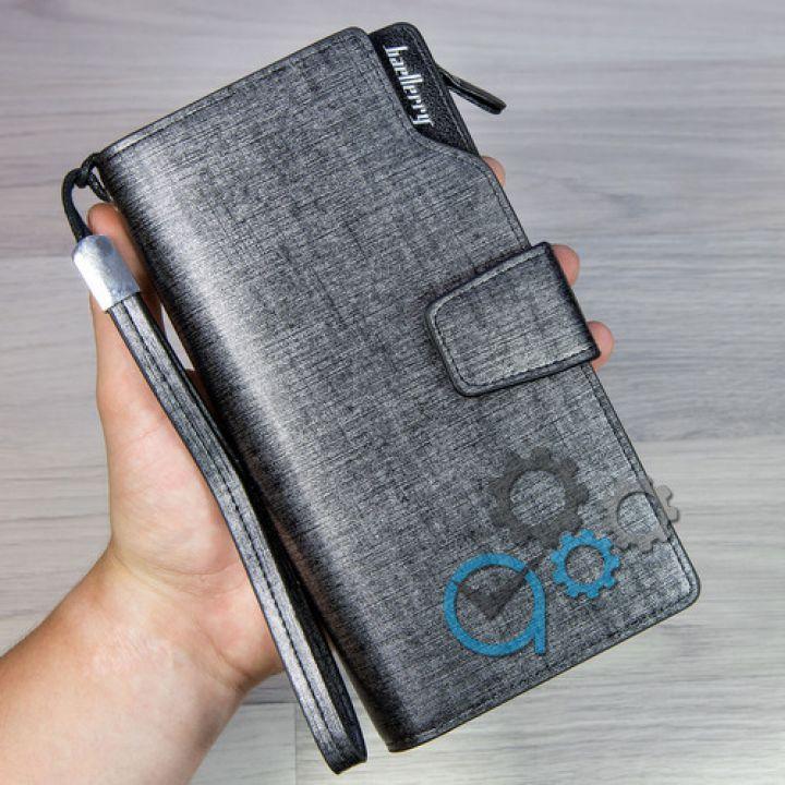 Кошелек-клатч мужской SK-3003-0031 Grey
