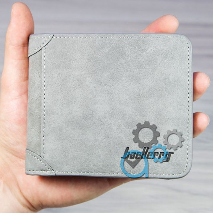 Мужской кошелек SK-3003-0045 Small Grey