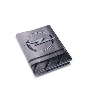 Обложка на автодокументы кожа -Opel-