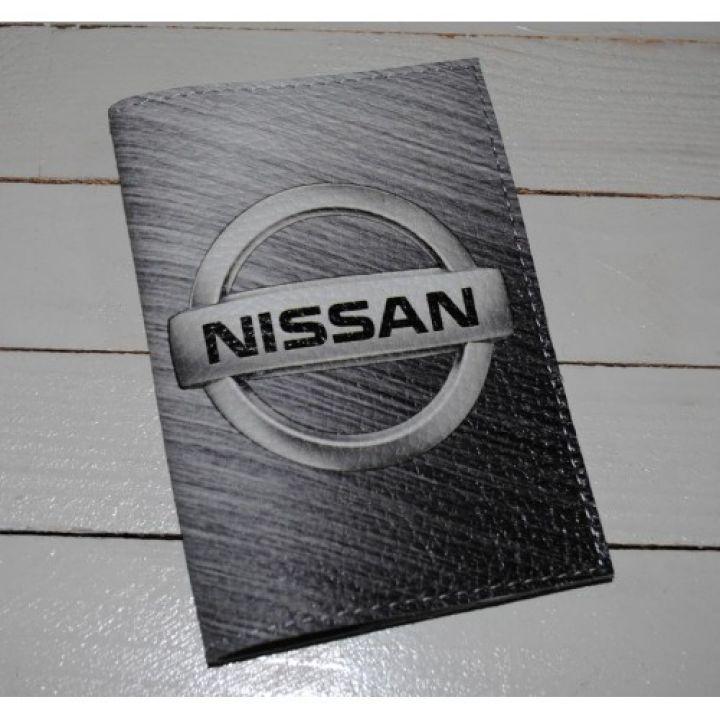 Обложка для автодокументов -Nissan-
