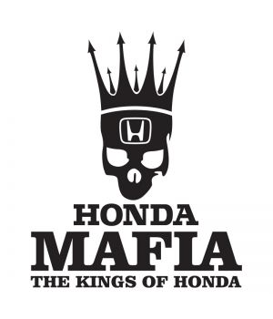Наклейка на авто - Honda Mafia, без фона