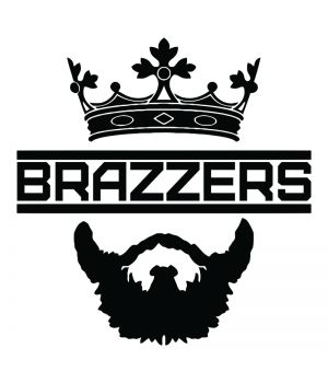 Наклейка на авто - КТА Brazzers, без фона