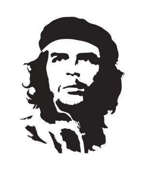 Наклейка на авто - Ернесто Че Гевара, без фона