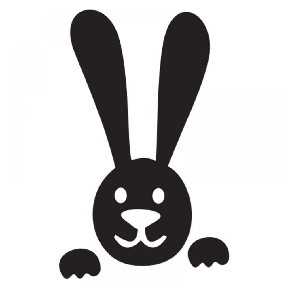 картинки зайца на стекло получать