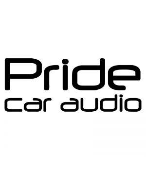 Наклейка на авто - Pride car audio