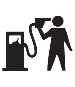 Наклейка на авто - Цены на бензин