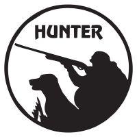 Наклейка на авто - Hunter