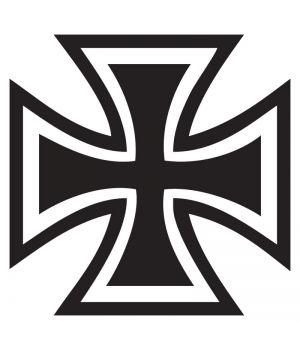 Наклейка на авто - Залізний Хрест