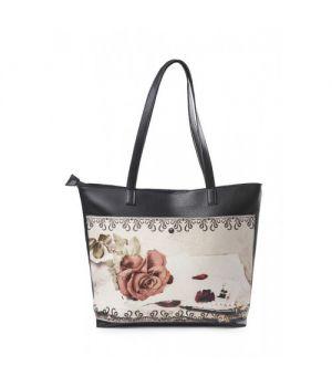 """Містка сумка """"Троянда на листі"""""""