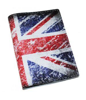 Обложка на паспорт/загранпаспорт Британский флаг