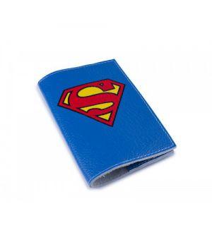 Шкіряна обкладинка для паспорта -Супермен-
