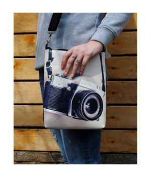 "Шкіряна сумка через плече ""Сон фотографа"""