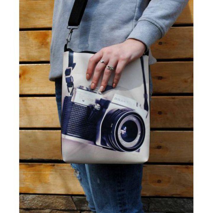 Кожаная женская сумка через плечо Сон фотографа