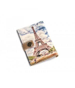 Обкладинка для ID паспорта -Ейфелева вежа-