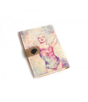 Обложка для ID паспорта -Мерлин тату-