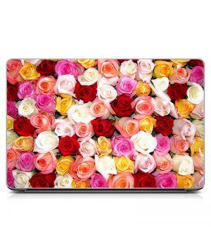 """Універсальна наклейка для ноутбука 15.6""""-13.3"""" Троянди Матова 380х250 мм"""