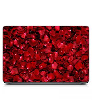 """Универсальная наклейка на ноутбук 15.6""""-13.3"""" Лепестки роз Матовая 380х250 мм"""