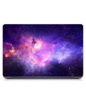 """Универсальная наклейка для ноутбука, 13.3""""-17.3"""" 400x260 мм Галактика Матовая"""