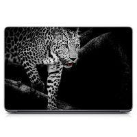 Наклейка на ноутбук Леопард Матовая