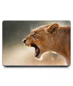 """Універсальна наклейка для ноутбука 15.6""""-13.3"""" Лють Матова 380х250 мм"""