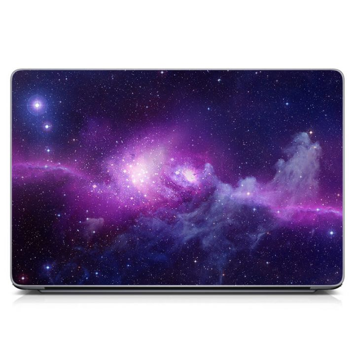 """Универсальная наклейка для ноутбука, 13.3""""-17.3"""" 400x260 мм Необъятный космос Матовая"""