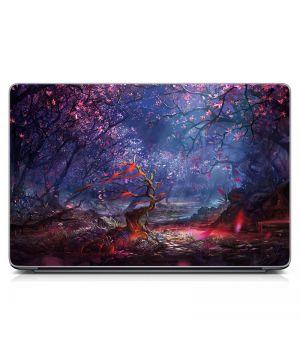 Наклейка на ноутбук Весна Матовая