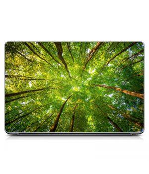 """Универсальная наклейка для ноутбука, 13.3""""-17.3"""" 400x260 мм Лес Матовая"""
