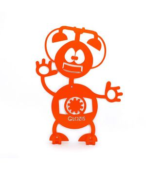 Вешалка гардеробная настенная Glozis Robot Phone