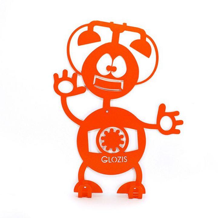 Вішалка гардеробна настінна Glozis Robot Phone
