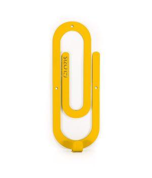 Настенная вешалка для одежды Glozis Clip Yellow