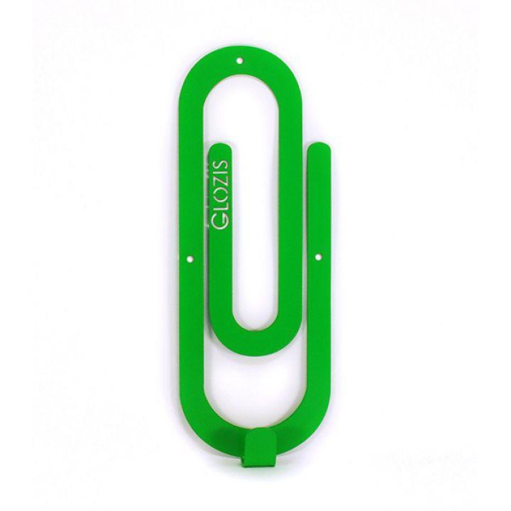 Настенная вешалка для одежды Glozis Clip Green