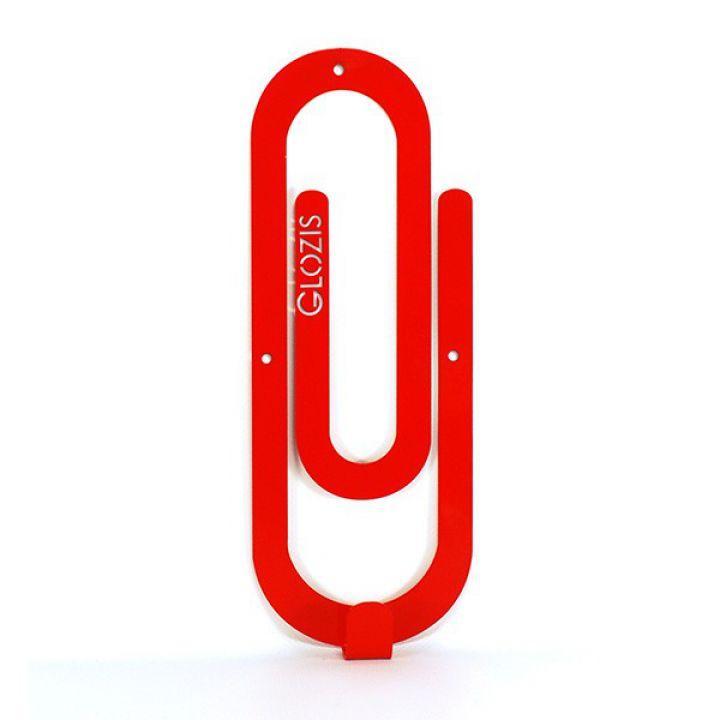 Настенная вешалка для одежды Glozis Clip Red