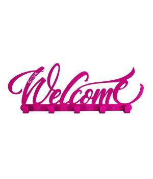 Настінна вішалка для одягу Glozis Welcome