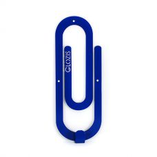 Настенная вешалка для одежды Glozis Clip Blue