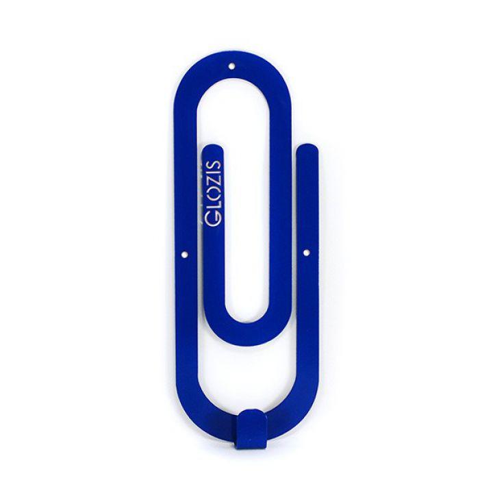 Настінна вішалка для одягу Glozis Clip Blue