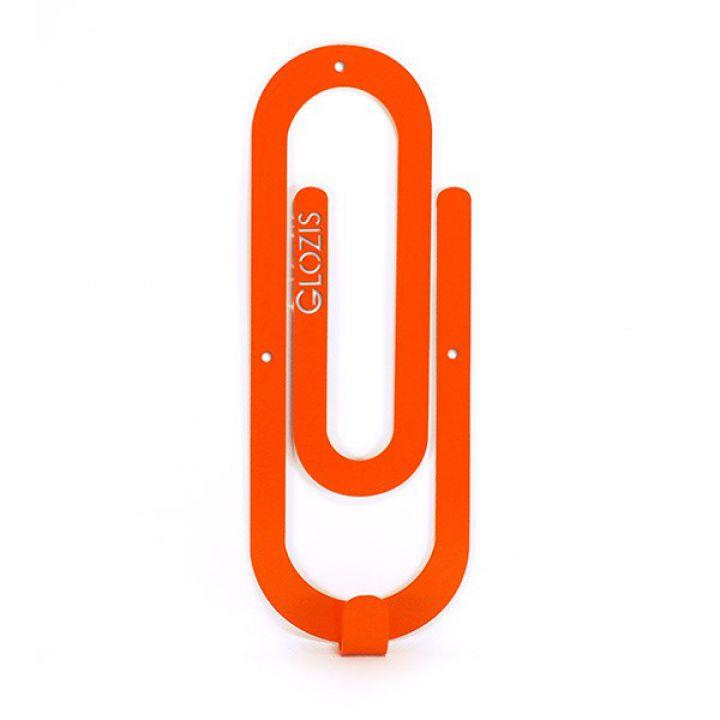 Настенная вешалка для одежды Glozis Clip Orange