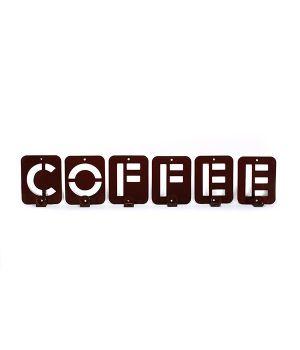 Вешалка гардеробная настенная Glozis Coffee