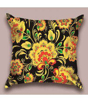 Декоративная подушка Ночное цветение