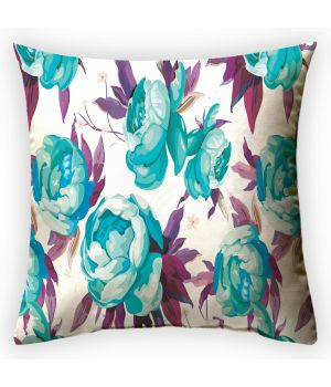 Декоративная подушка Пионовый рай 2