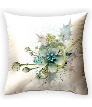 Декоративная подушка Театр цветов