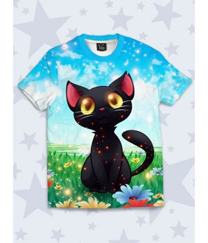 Дитяча футболка Неземний котик
