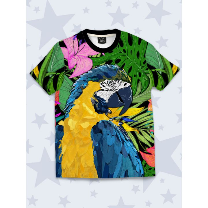 Детская футболка Macaw
