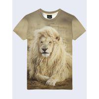 Мужская футболка Царь саванны