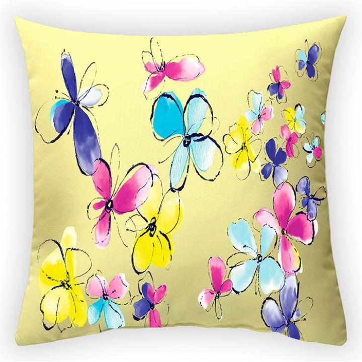 Декоративная подушка Солнечное лето