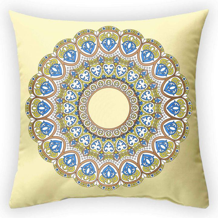 Декоративная подушка Солнечный круг