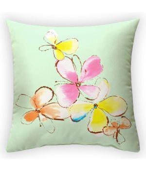 Декоративная подушка Райский цветок